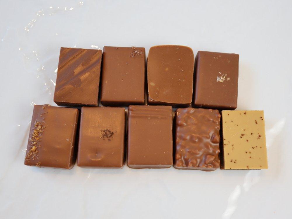 ミルクチョコレートシリーズ