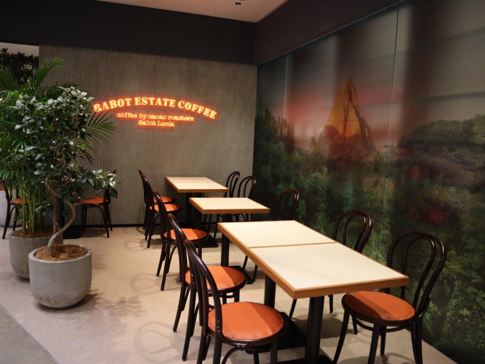 ホテルショコラエスパル仙台のイートインスペース