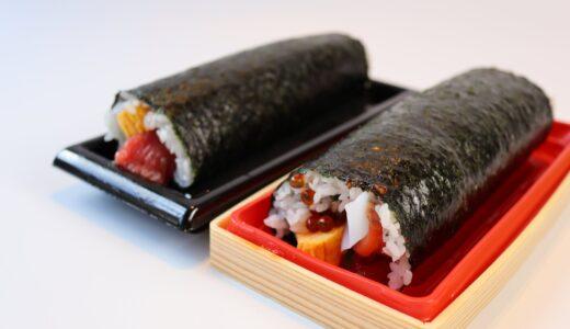 仙令平庄の恵方巻を実食レポ!海鮮丼のような豪華さの七福巻と本まぐろ巻