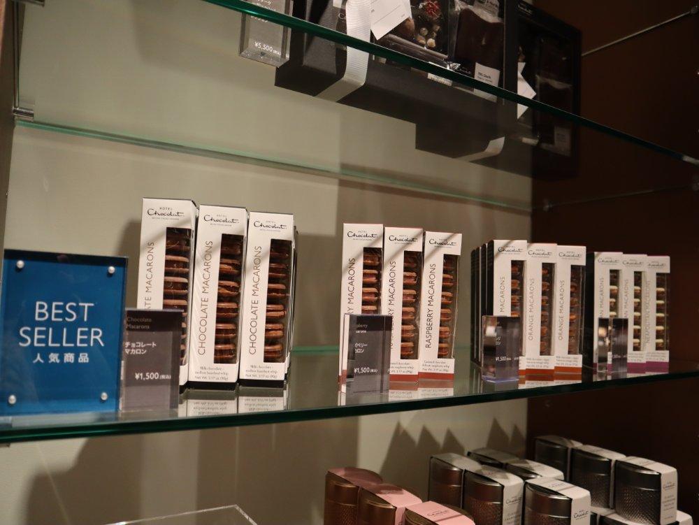 ホテルショコラ仙台のチョコレートマカロン