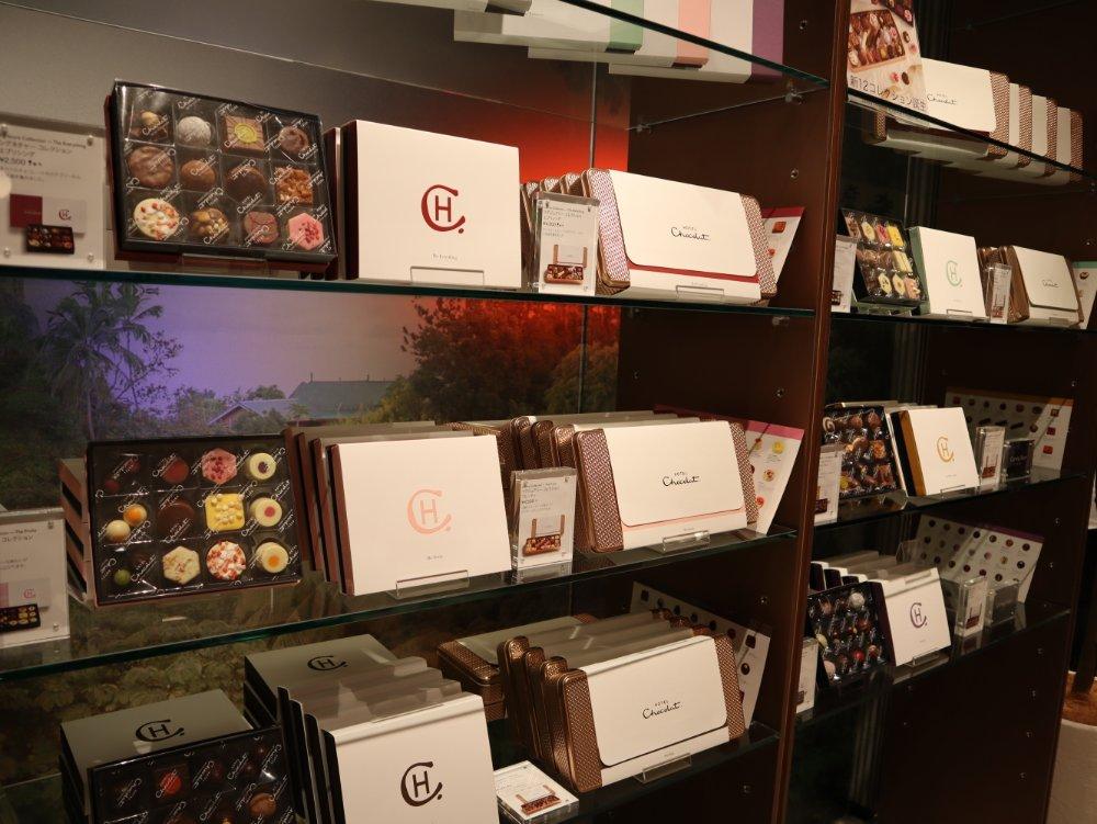 ホテルショコラ仙台のコレクションボックス