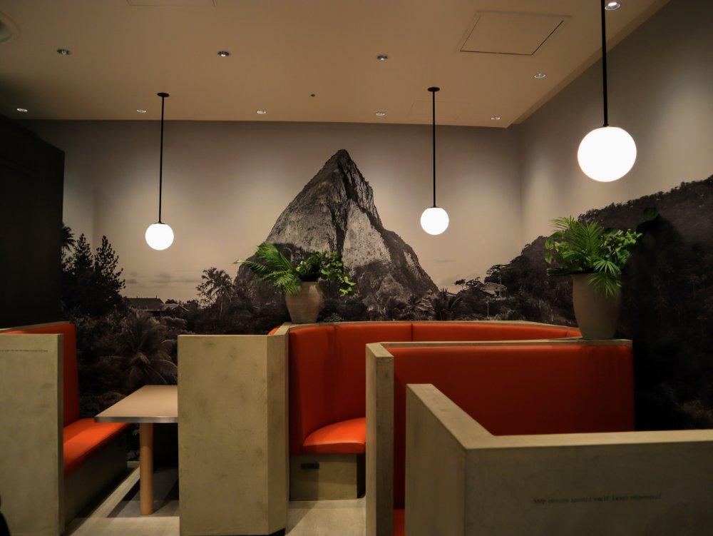 ホテルショコラ エスパル仙台店のカフェ