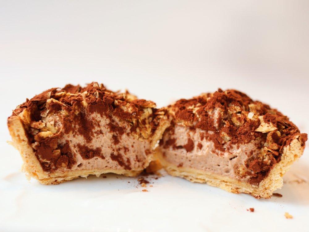 ロワイヤルテラッセの生パイ チョコ味