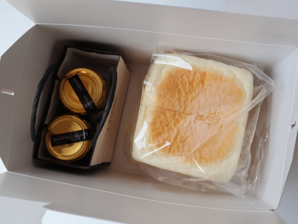 ラパンのギフトボックス  食パンとジャム
