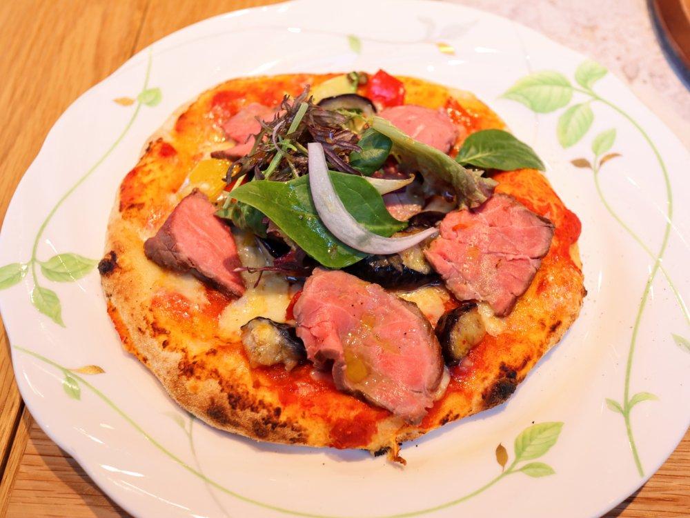 ピッツェリアラヴァロック仙台のピザ