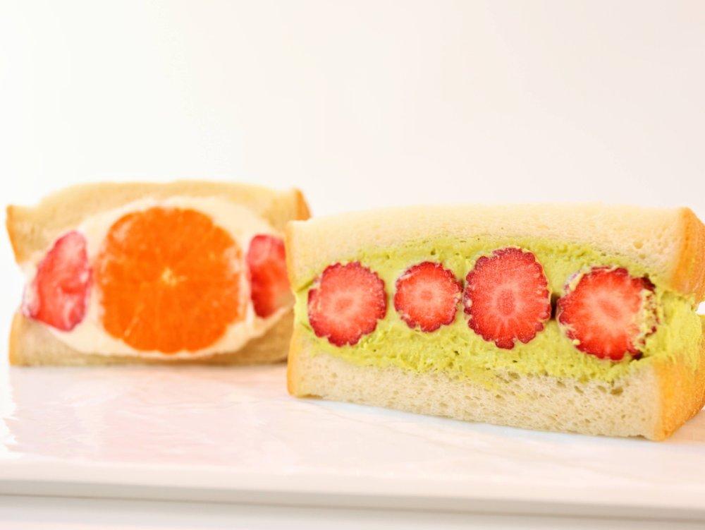 エトネのフルーツサンド