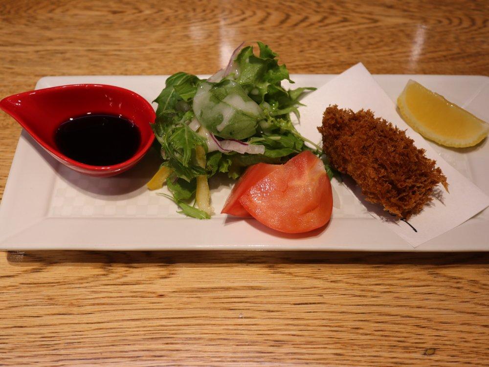 利久の和食処 松島 カキフライ