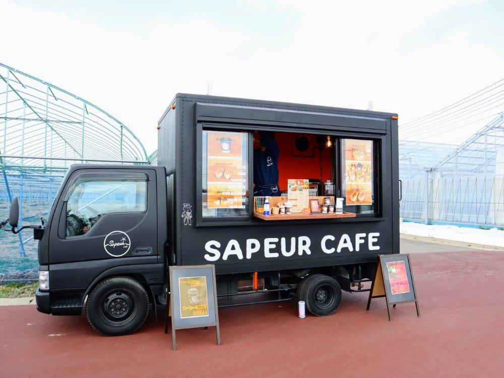 サプール カフェ