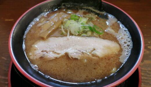 【ラーメン日記】泉区南中山 節系とんこつらぁ麺 おもと|濃厚節系豚骨の節とん