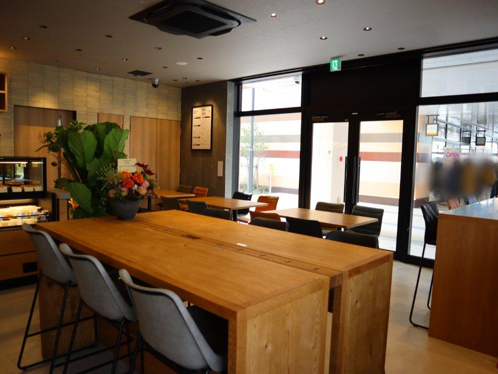 フラットホワイトコーヒー仙台長町店 店内2