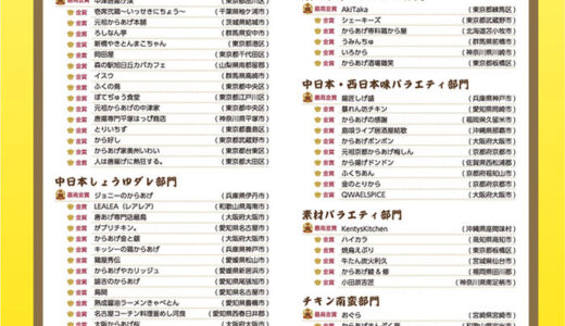 第12回からあげグランプリの結果発表!宮城県仙台市の受賞店が超予想外!