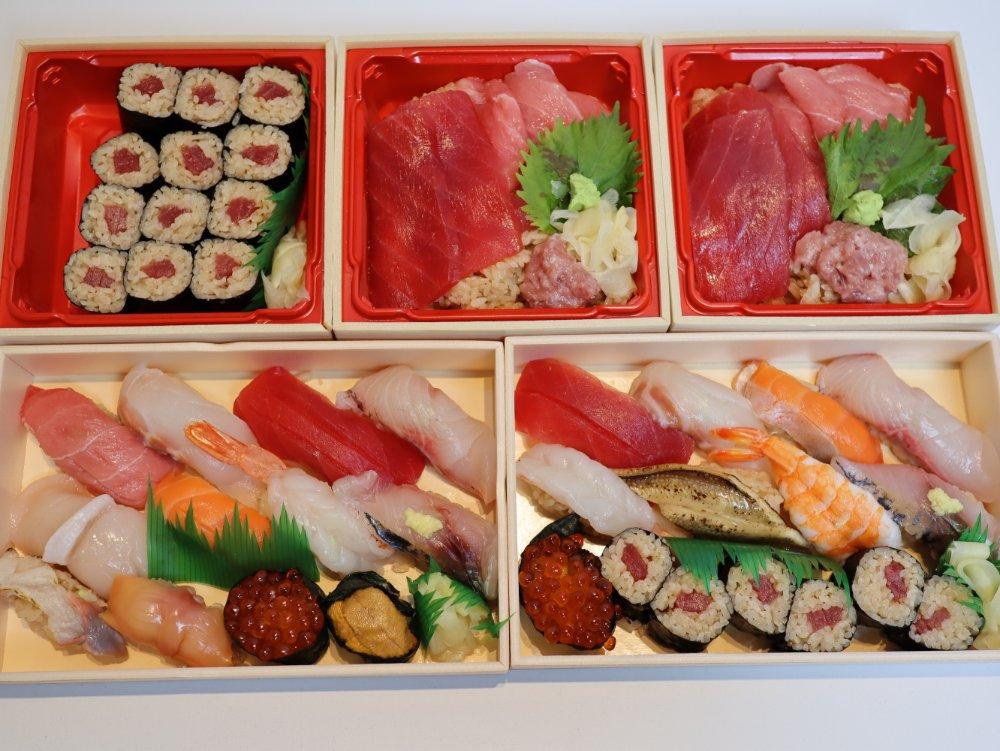 ワイン・寿司・天ぷら 魚が肴 仙台PARCO2店のお寿司