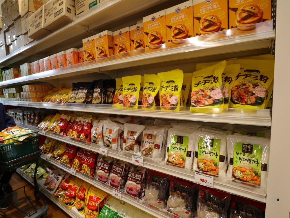 チヂミ粉、天ぷら粉、もち米ホットケーキミックスなど