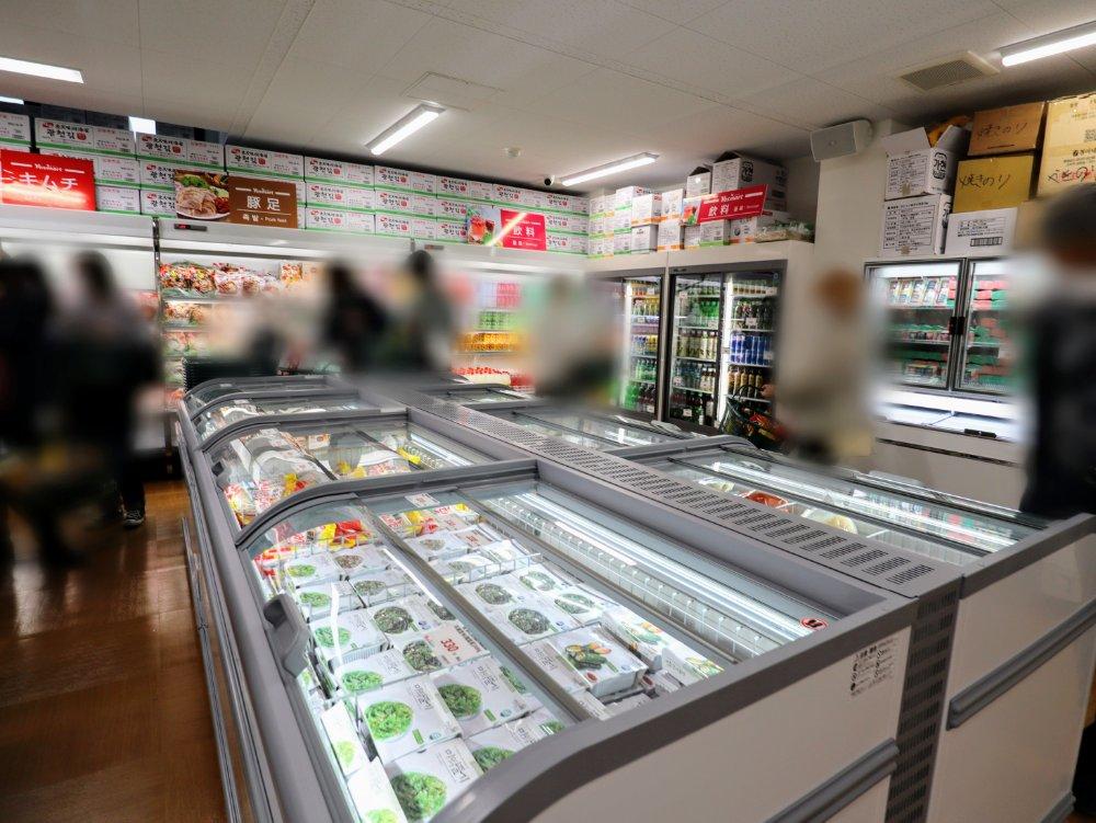 冷凍スーパー