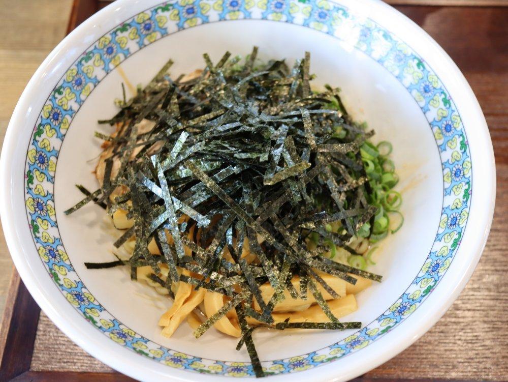 萩ノ宮製麺所 シエロ茂庭店 油そば