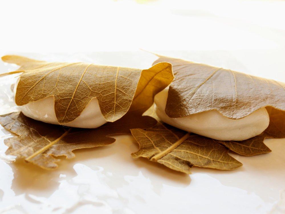いち福の柏餅