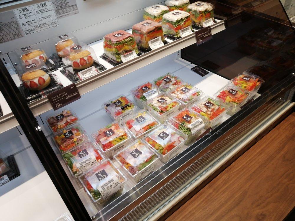 コパン仙台駅店のサラダ