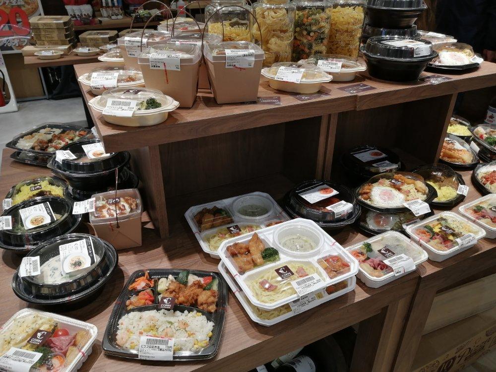 コパン仙台駅店のお弁当ラインナップ