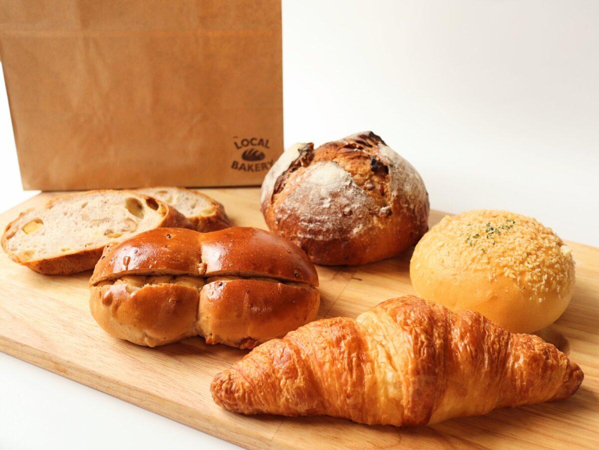 ローカルベーカリーのパン