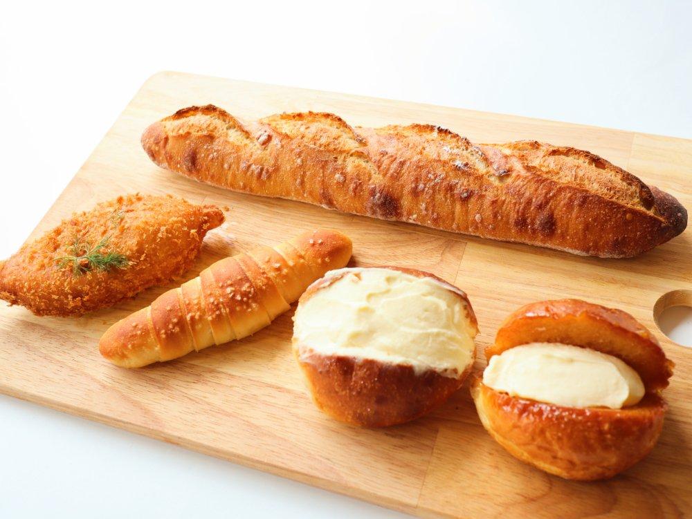 ブーランジェリージラフのパン