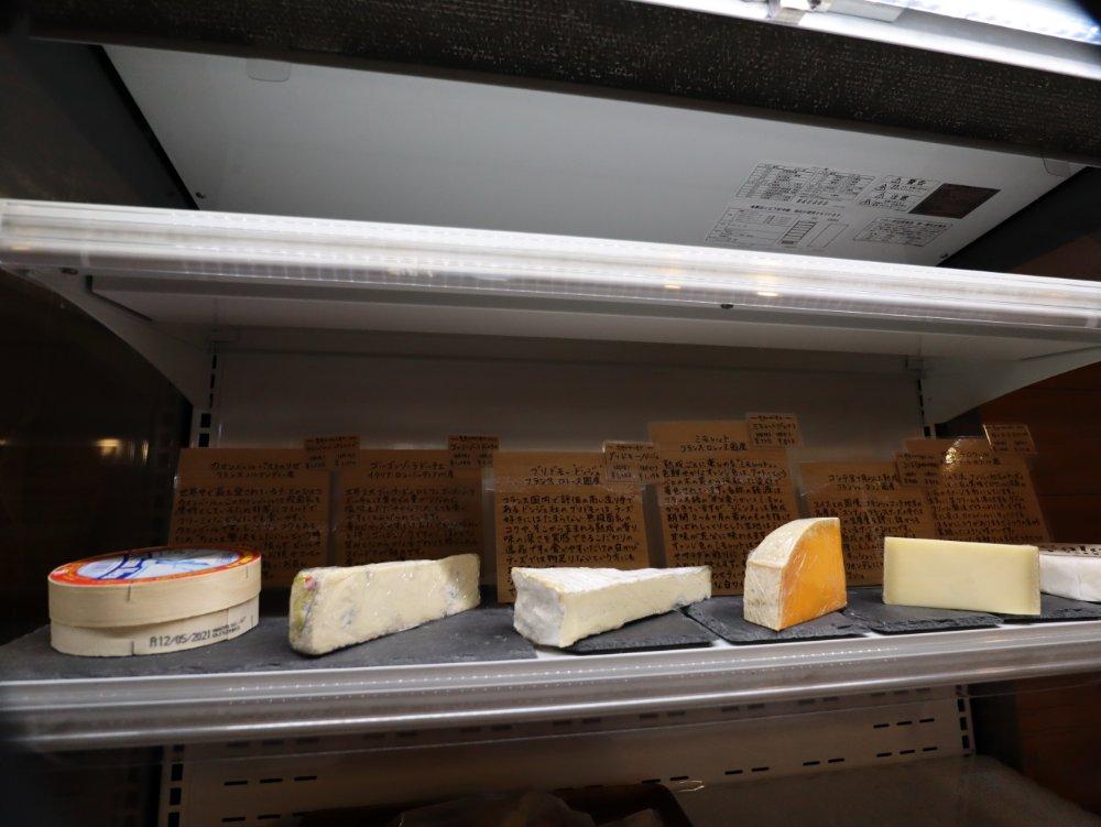 オフルニルデュボワのチーズ