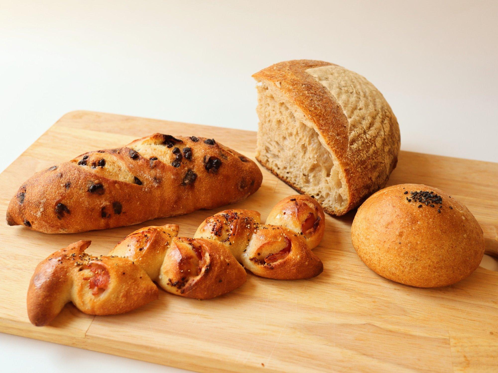 オフルニルデュボワのパン