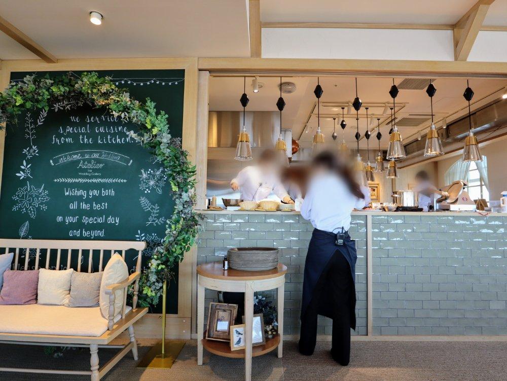 カフェ アトリエ オープンキッチン