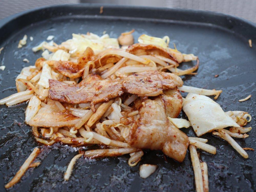 豚バラ野菜炒め