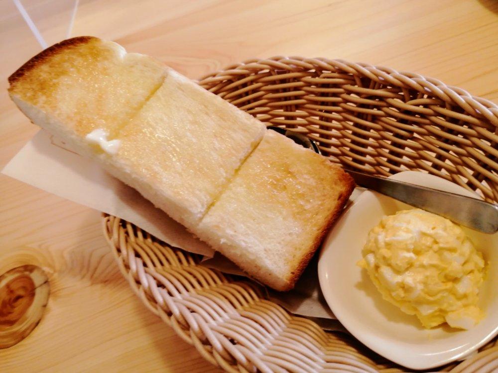 コメダ珈琲店 仙台幸町店 トーストセット