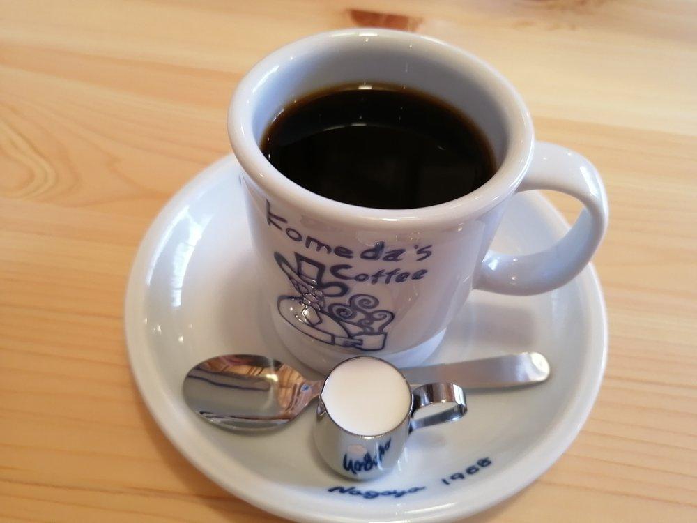 コメダ珈琲店 仙台幸町店のコーヒー