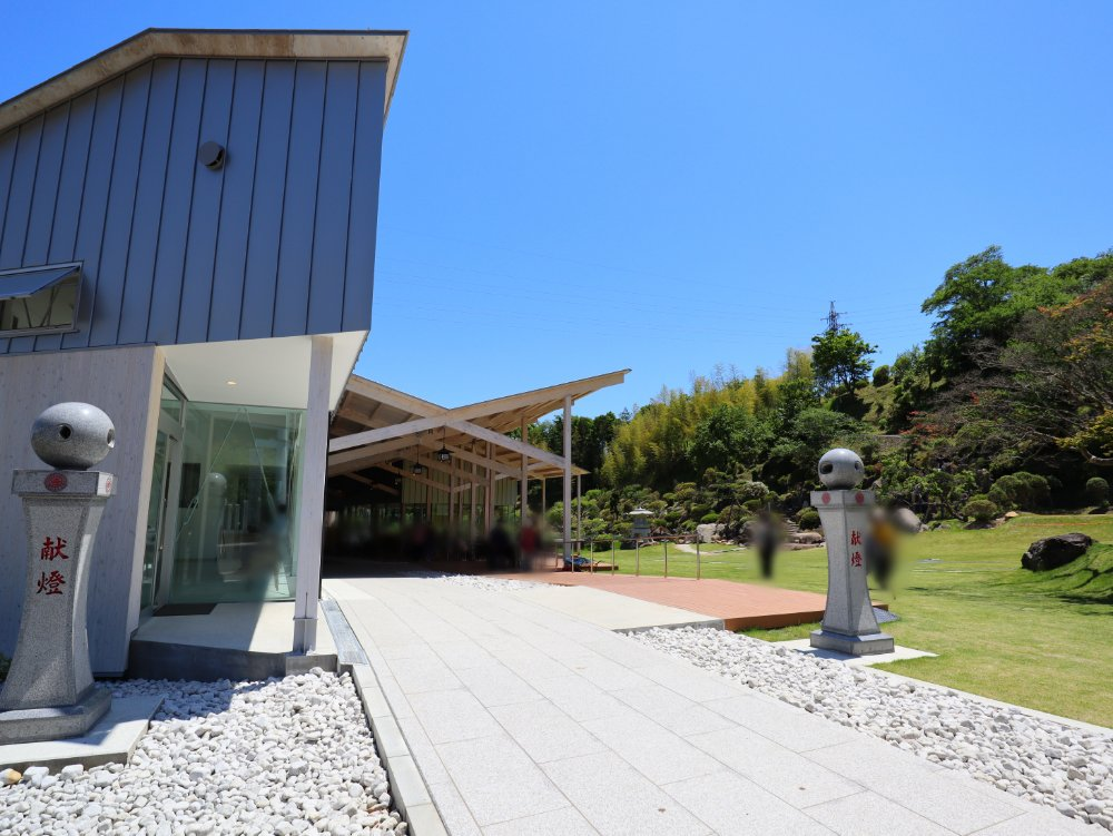 金蛇水神社の景色