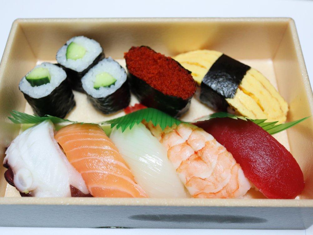 うまい鮨勘の寿司