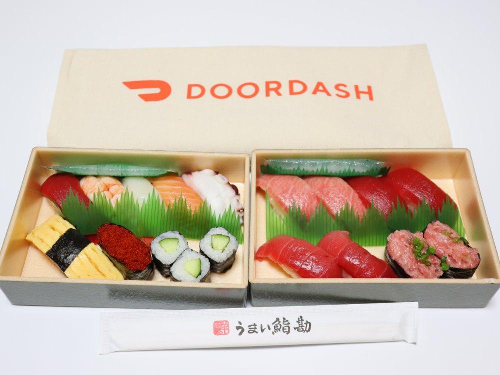 DoorDashでデリバリー