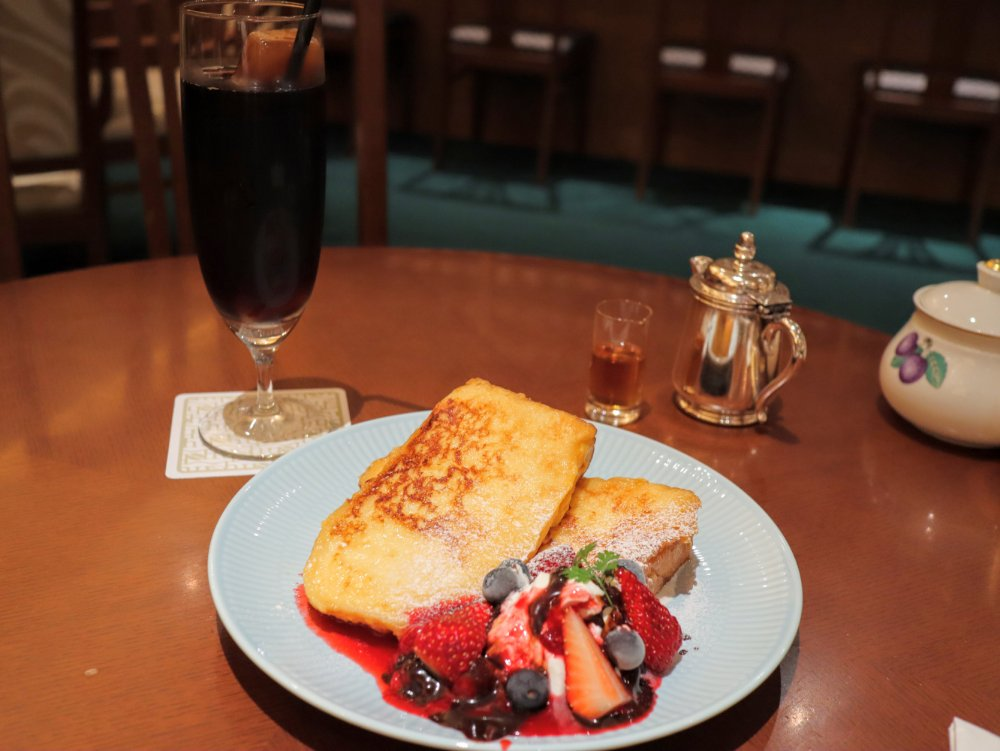 ホシヤマ珈琲店 フレンチトースト