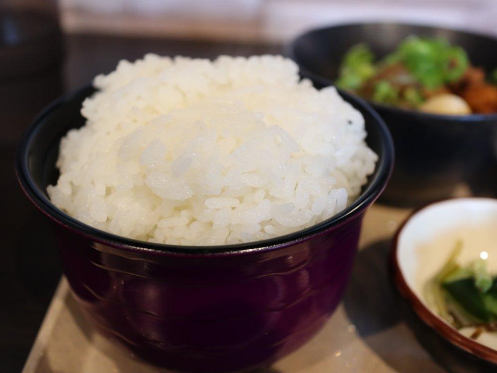 羽釜炊きご飯