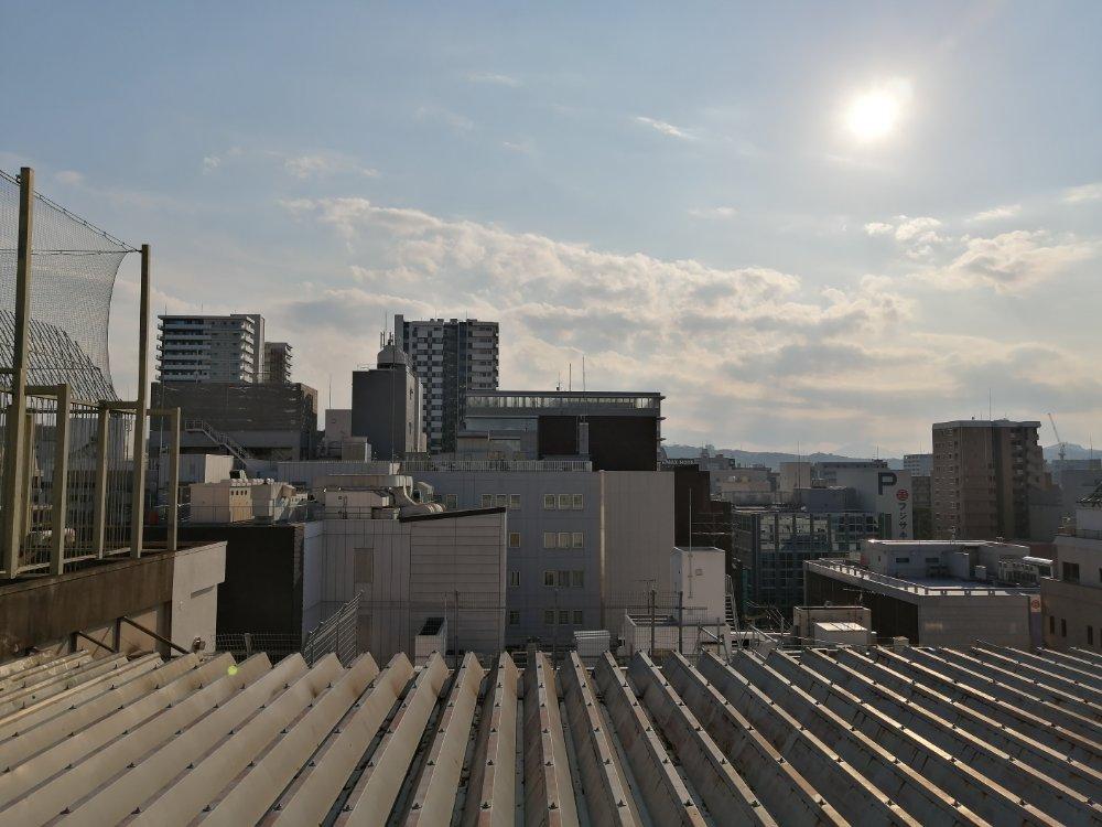 藤崎の屋上からの景色