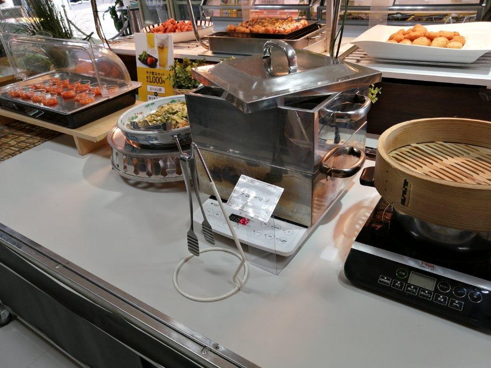 藤崎ビアガーデンの料理例