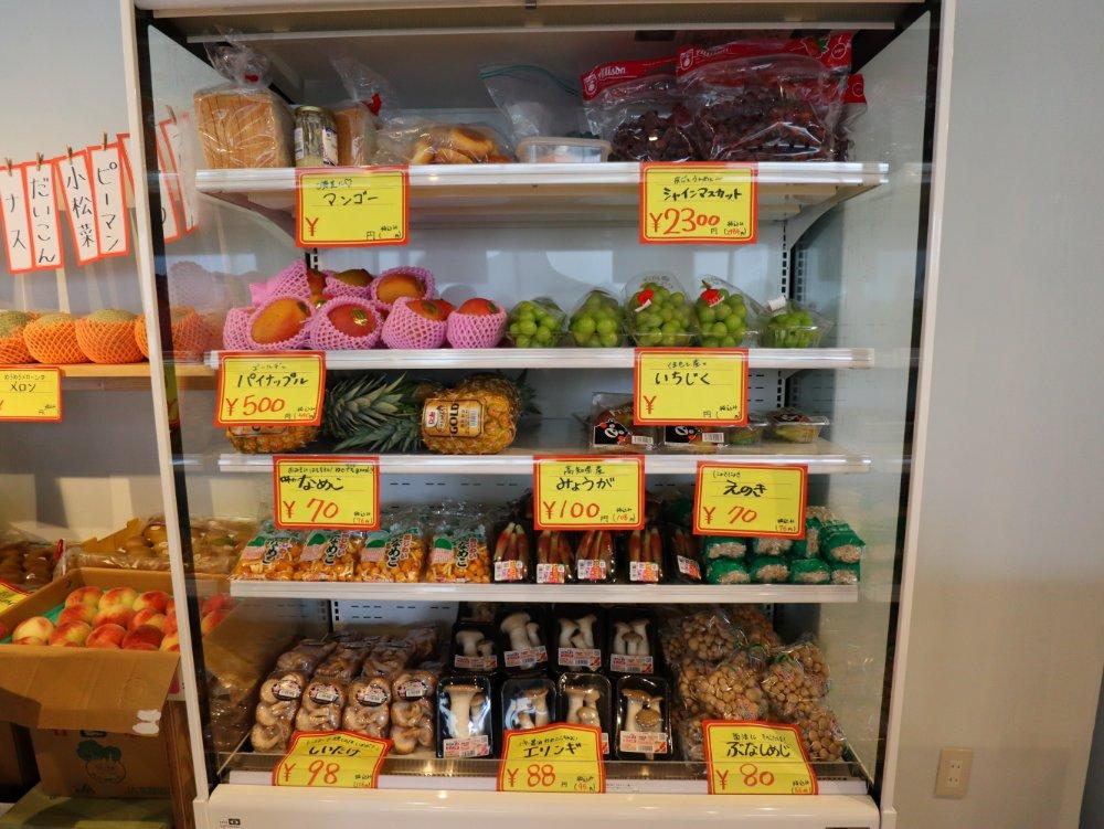 #05阿部青果店のフルーツ