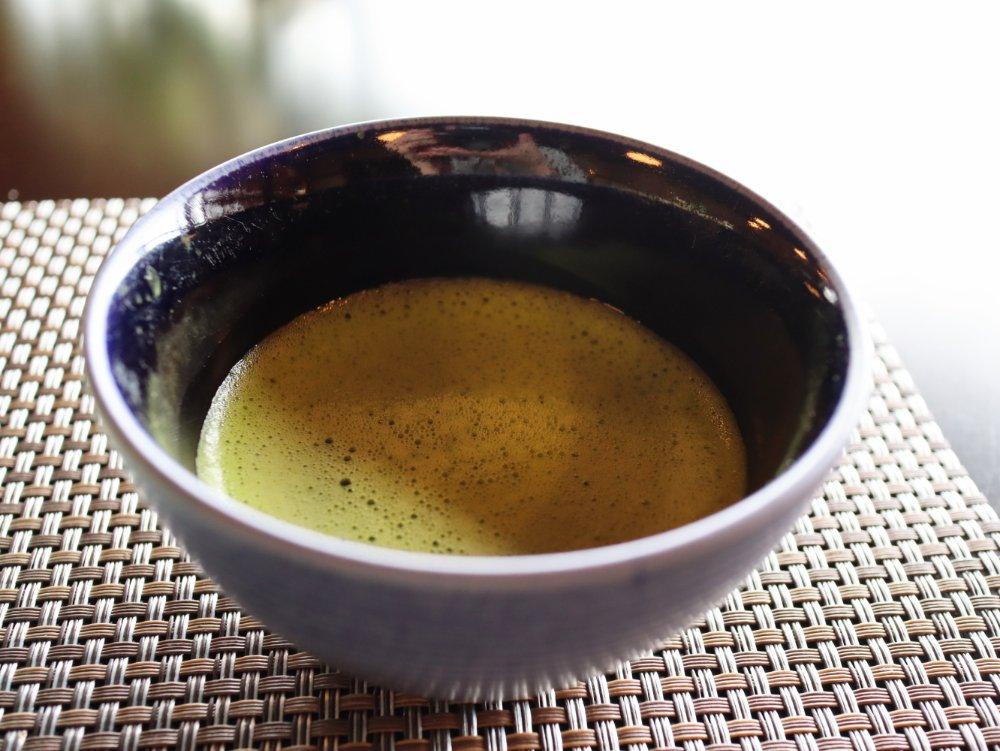 お抹茶「綾の森」