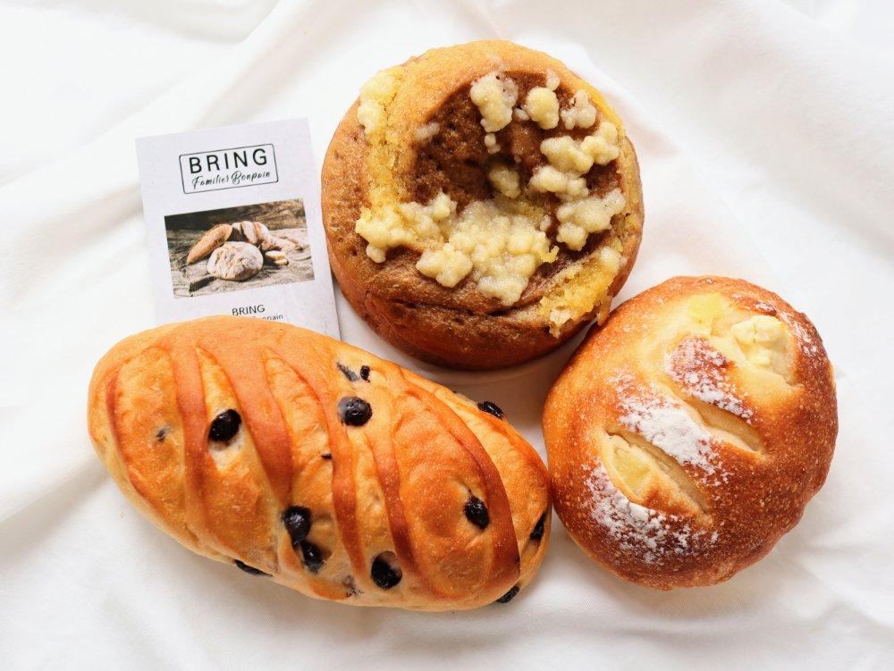 太白区柳生ブリングのパン