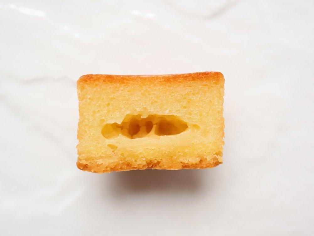 クラフトバターケーキの断面