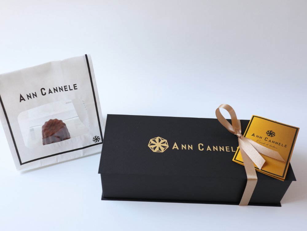 ANN CANNELEで購入したカヌレ