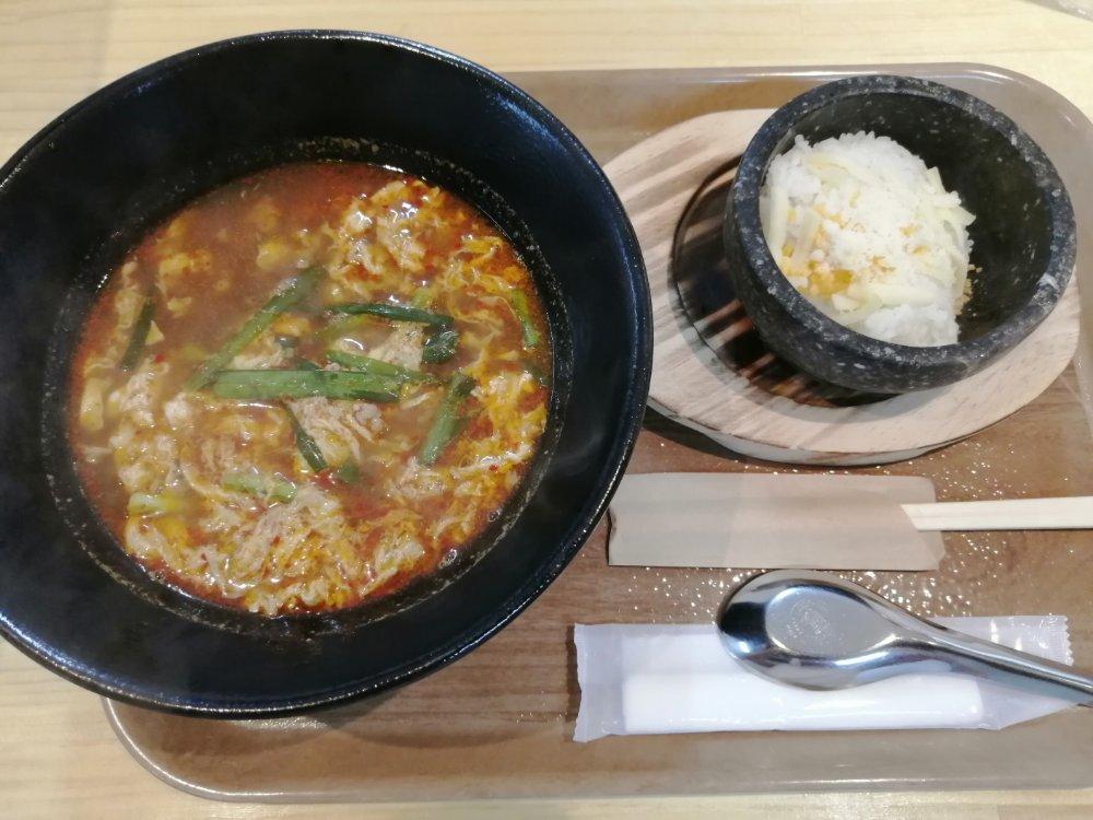 五橋テンシンコウシリンの辛麺