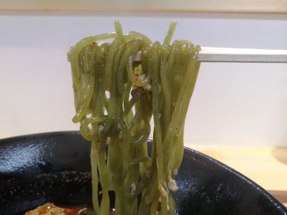 緑の自家製麺