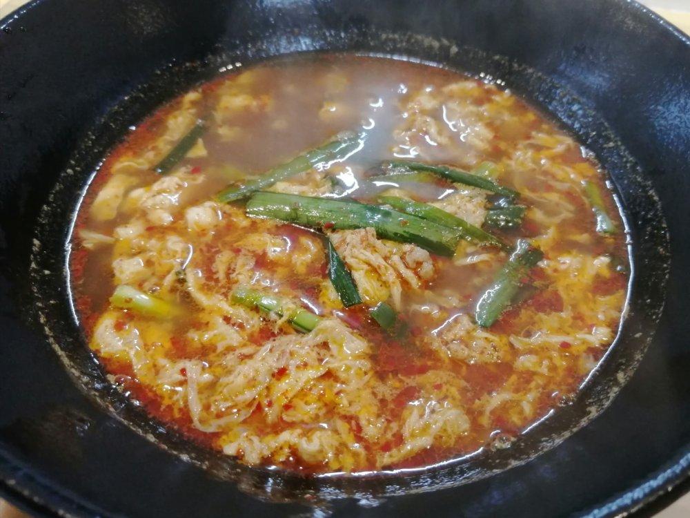 テンシンコウリンの辛麺