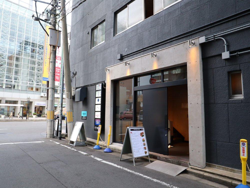 Sandwich Store Sendai入口
