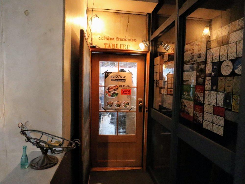サンドイッチストア仙台店の入口
