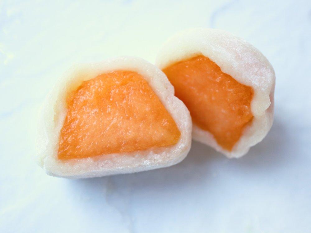 ライデンメロンのフルーツ大福