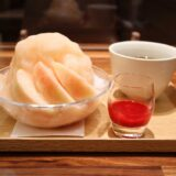 いたがき 桃のかき氷