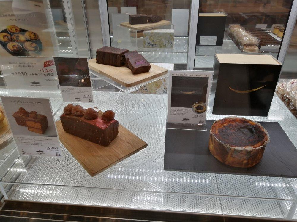 メゾン シーラカンス バスクチーズケーキとテリーヌ